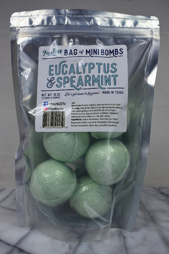 Fizz Bizz LLC - Mini - Eucalyptus and Spearmint