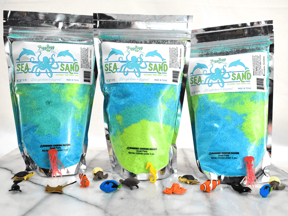 Fizz Bizz LLC - Sea Sand - Kids Bath Salts
