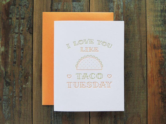 Harken Press - Taco Tuesday Card