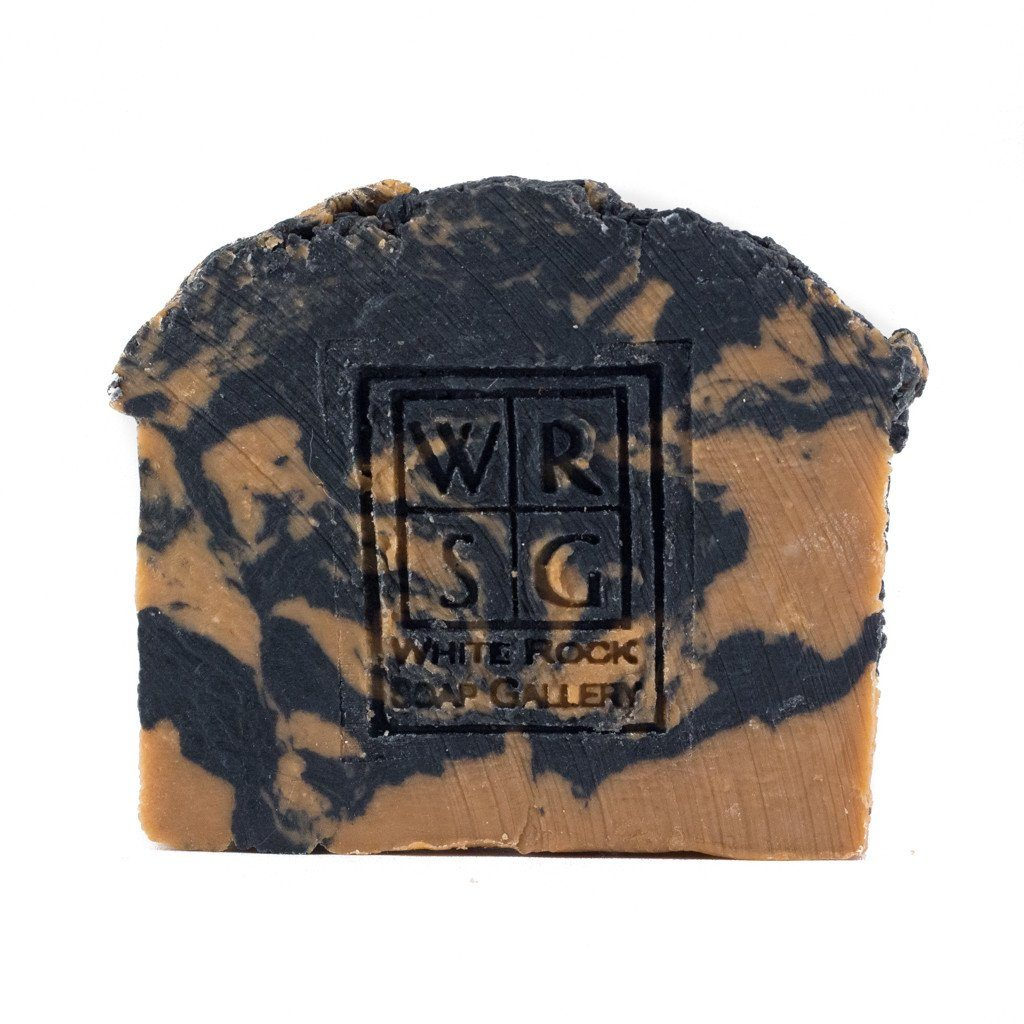 Activated Charcoal & Moroccan Red Clay Soap - White Rock Soap Gallery