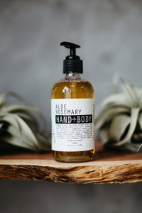 Moon Rivers Naturals Aloe Rosemary Hand & Body Wash - White Rock Soap Gallery