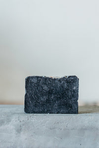 Moon Rivers Naturals Activated Charcoal + Himalayan Salt Soap - White Rock Soap Gallery