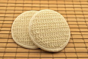 Ramie Facial Pad - White Rock Soap Gallery