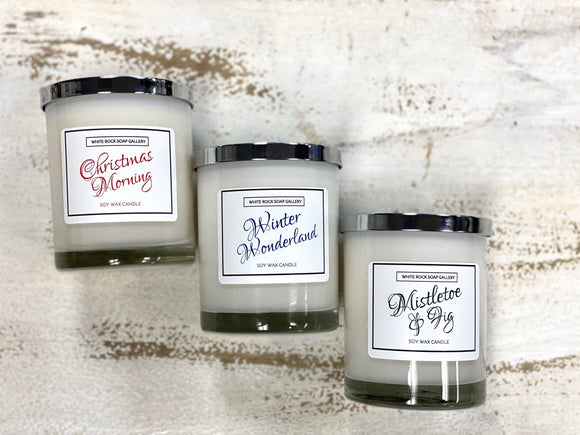 Soy Wax Candle Holiday