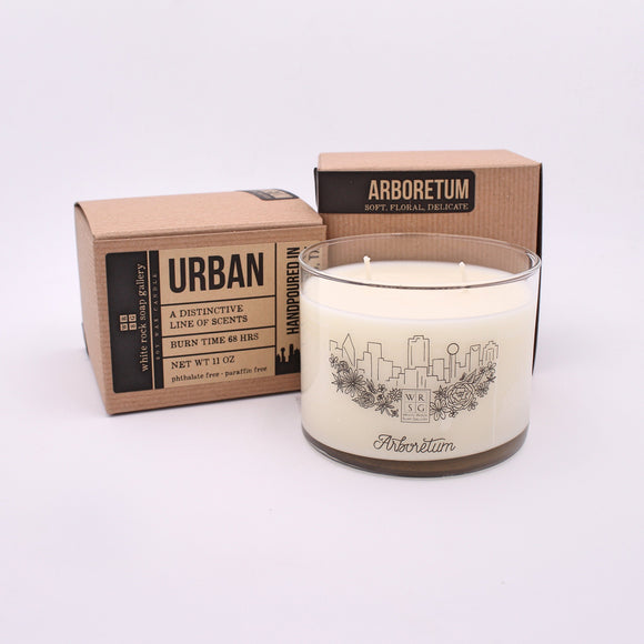 Soy Wax Candle Urban Collection
