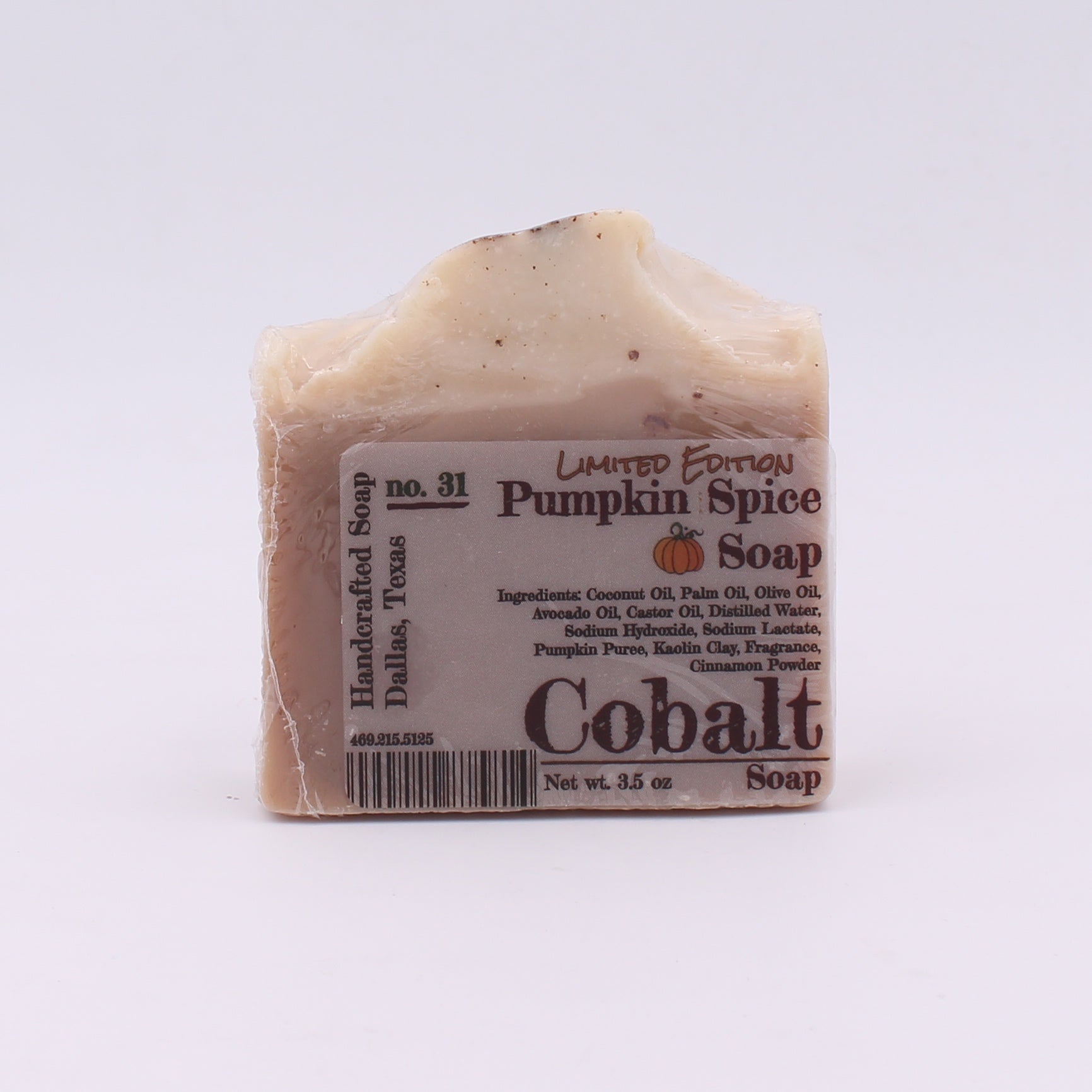 Cobalt Soap no. 31 - Pumpkin Spice