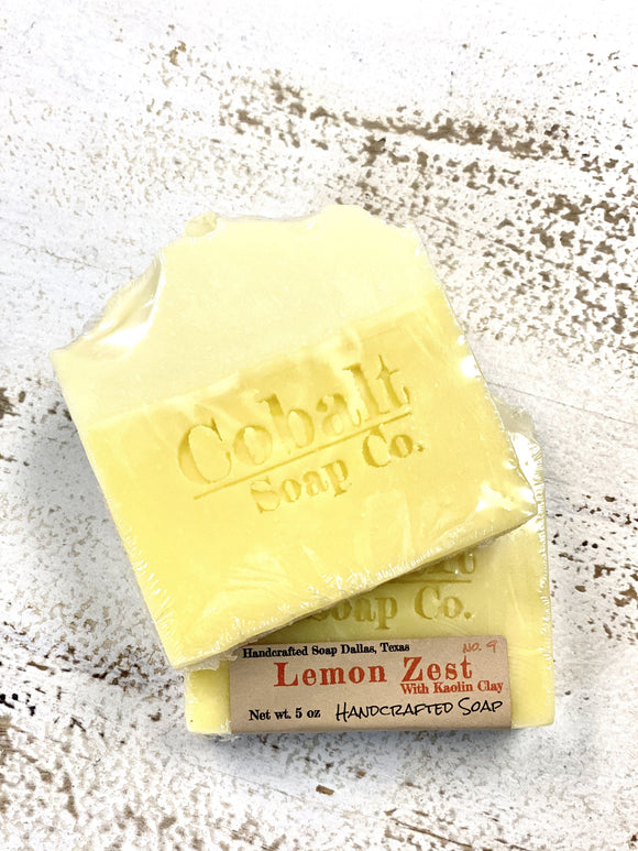 Cobalt Soap no. 4 - Lemon Zest