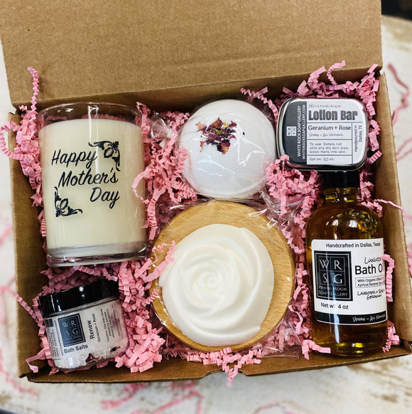 Mother's Day Gift Box - Rose Geranium