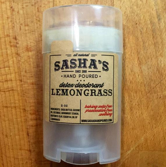 Sasha's Hand Poured Deodorant - White Rock Soap Gallery