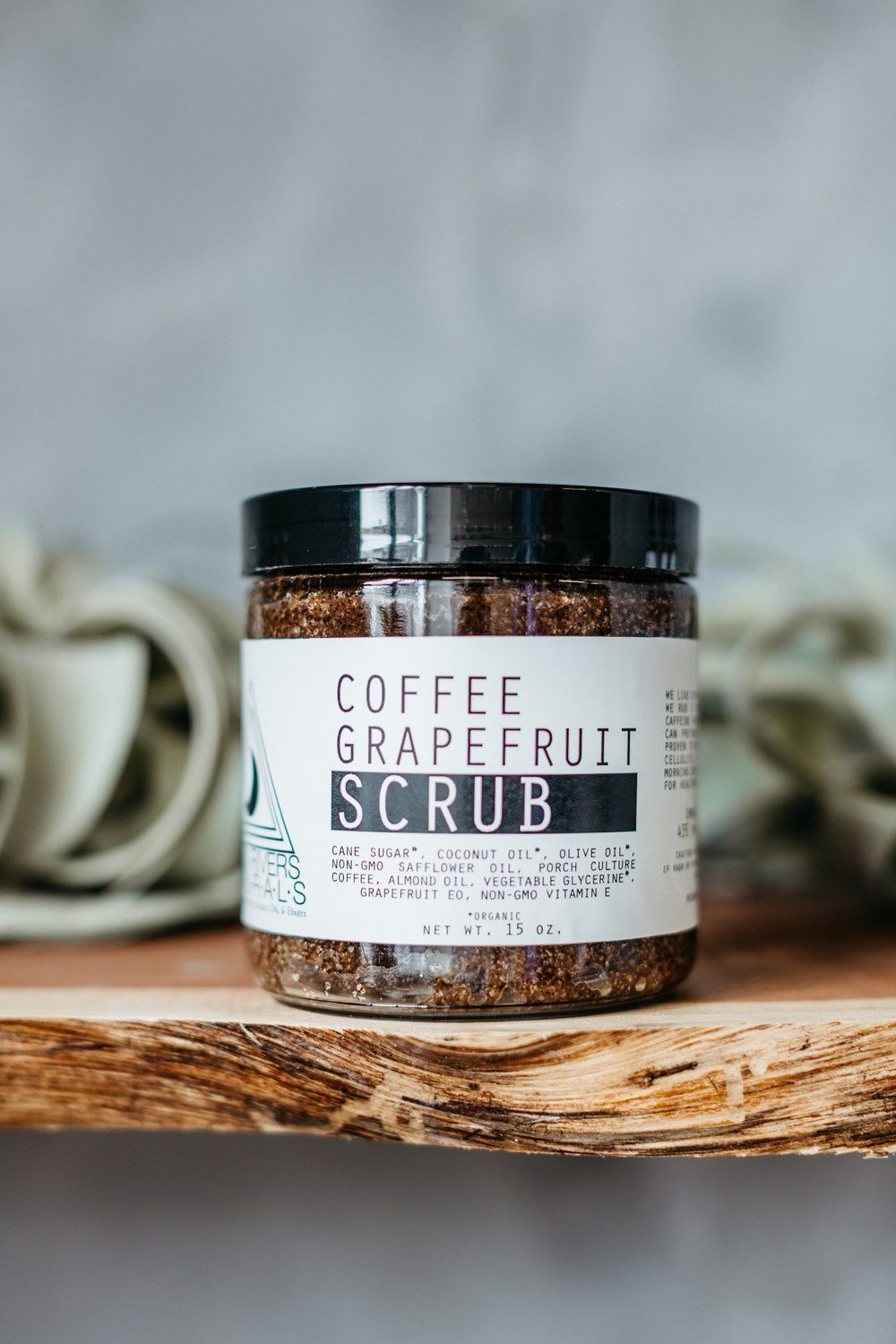Moon Rivers Naturals Coffee Grapefruit Scrub - White Rock Soap Gallery