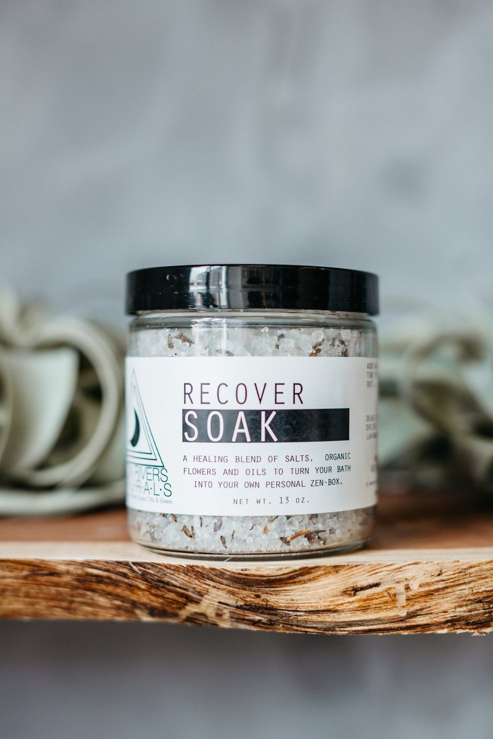 Moon Rivers Naturals Recover Soak - White Rock Soap Gallery