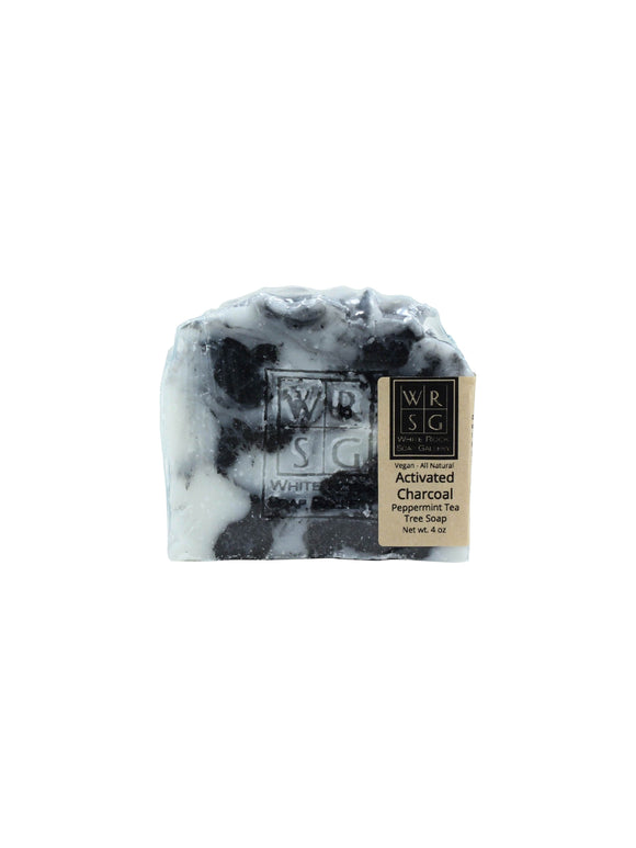 Activated Charcoal with Peppermint Tea Tree Soap