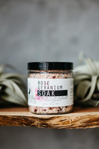 Moon Rivers Naturals Rose Geranium Soak