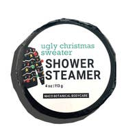 NHCO Botanical Body Care Ugly Christmas Sweater Shower Steamer