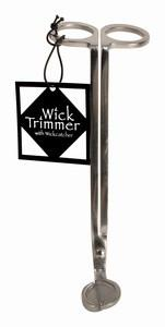 Wickman Stainless Steel Wick Trimmer with Wick Catcher - White Rock Soap Gallery