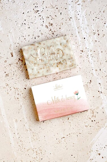 Latika Body Essentials - Milk & Honey Natural Soap
