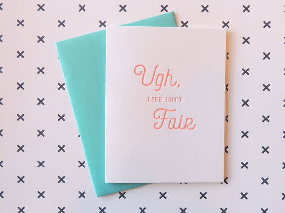 Harken Press - Ugh Card