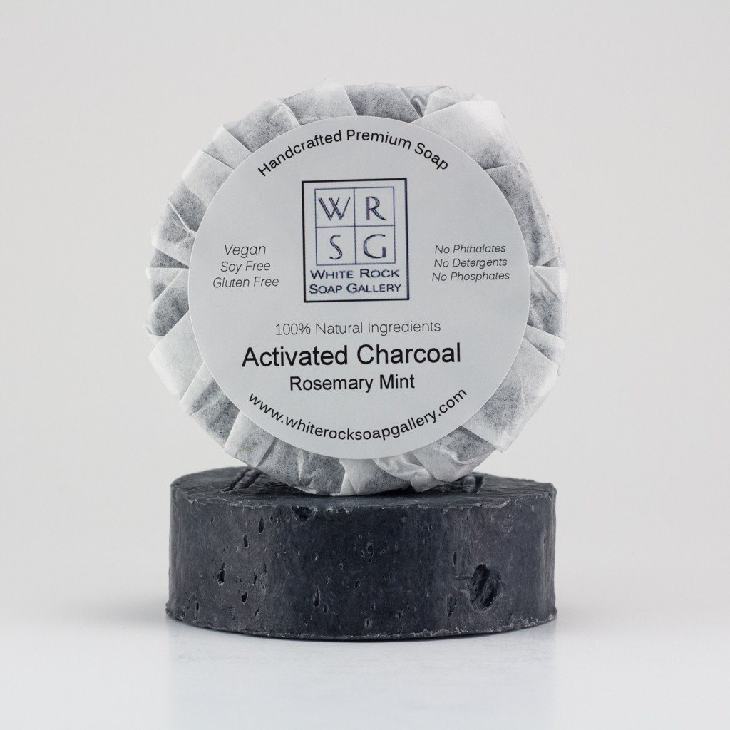 Activated Charcoal Soap - White Rock Soap Gallery