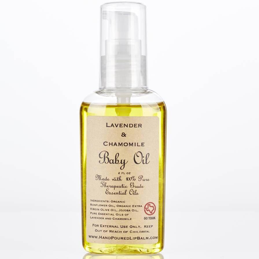 Sasha's Hand Poured Baby Oil