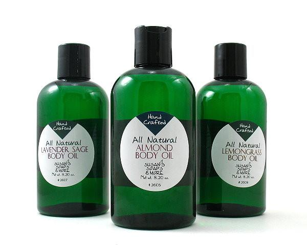 Body Oils by Susan's - White Rock Soap Gallery