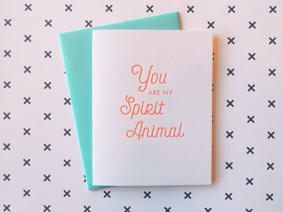 Harken Press - Spirit Animal Card