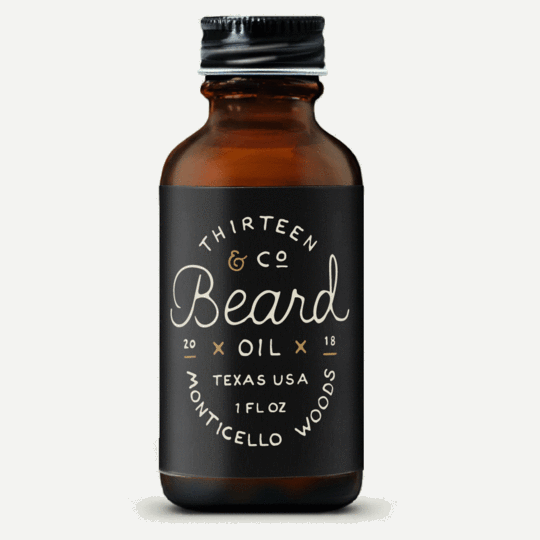 13 & Co - Monticello Woods Beard Oil