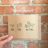 Whiski Designs Greeting Card