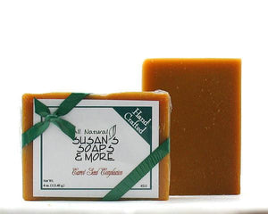 Carrot Seed Complexion Bar by Susan's Soaps - White Rock Soap Gallery