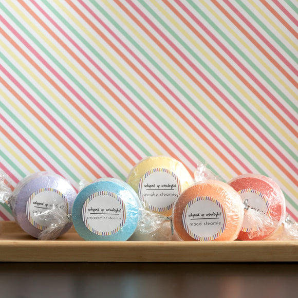 Whipped Up Wonderful - Shower Steamie Singles - Simple Packaging