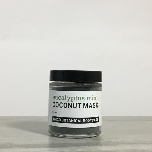 NHCO Botanical Body Care Coconut Shell Charcoal Mask
