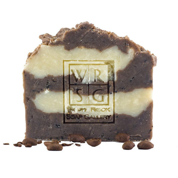 All Natural Coconut Milk & Coffee Soap - White Rock Soap Gallery