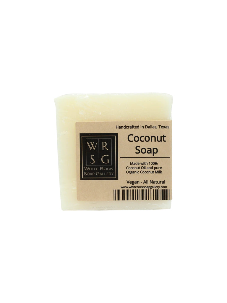 All Natural Coconut Oil Soap