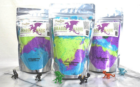 Fizz Bizz LLC - Dragon Magic - Kids Bath Salts