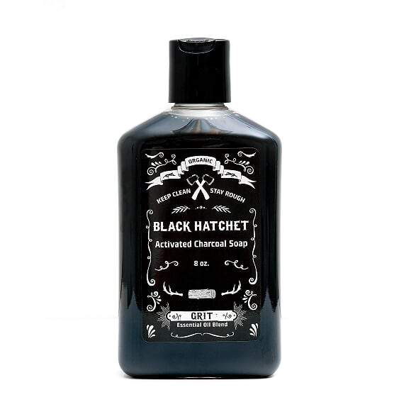Latika Body Essentials - Grit Organic Charcoal Body Wash
