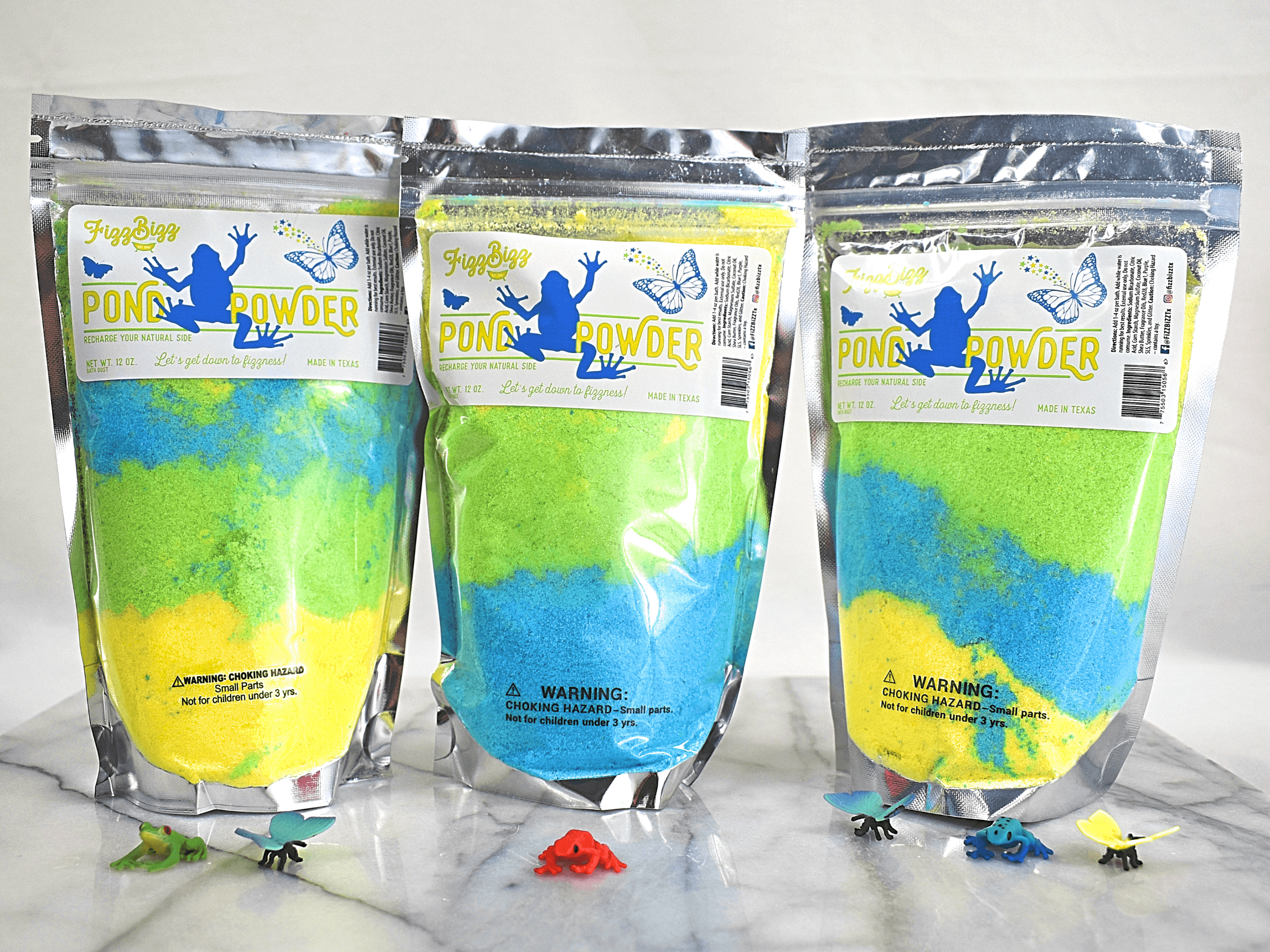 Fizz Bizz LLC - Pond Powder - Kids Bath Salts