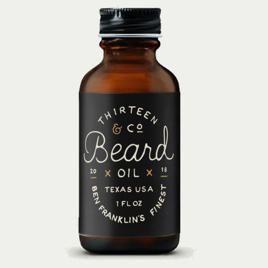 13 & Co - Ben Franklin's Finest Beard Oil