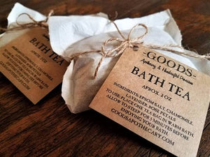 Goods Apothecary Bath Tea Bath Soak