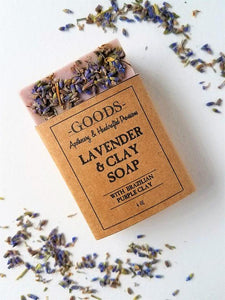 Goods Apothecary Lavender and Brazilian Clay Soap