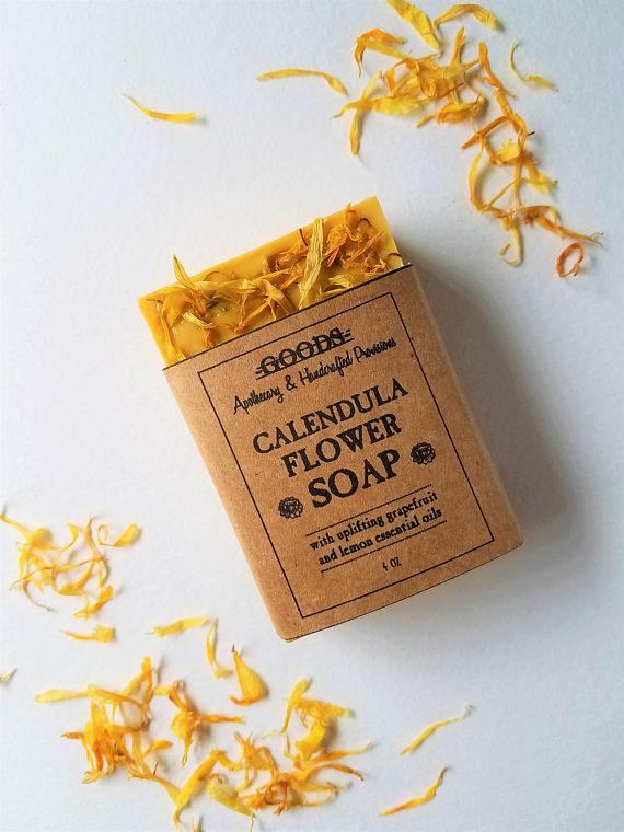Goods Apothecary Calendula Flower Soap