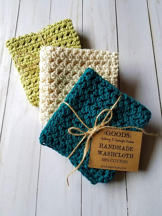 Goods Apothecary Handmade Wash Cloth