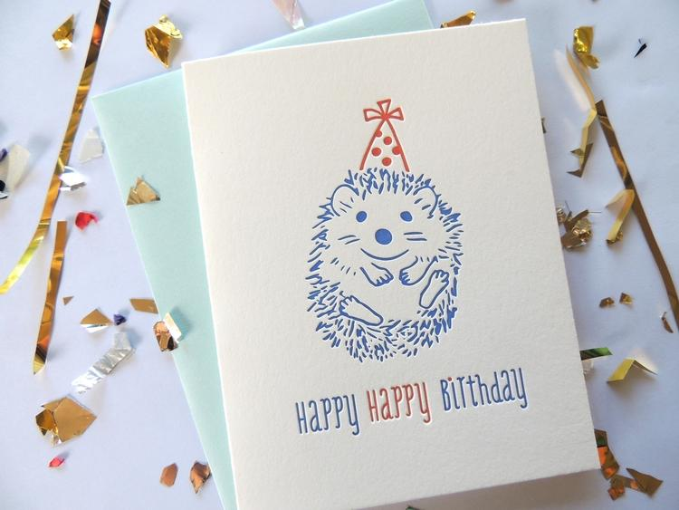 Harken Press - Happy Hedgehog