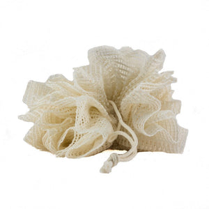 Ramie Bath Scrunchie - White Rock Soap Gallery