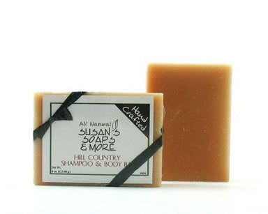 Susan's Soap Shampoo Bar - White Rock Soap Gallery