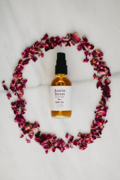 Austin St. Apothecary Body Oil - White Rock Soap Gallery