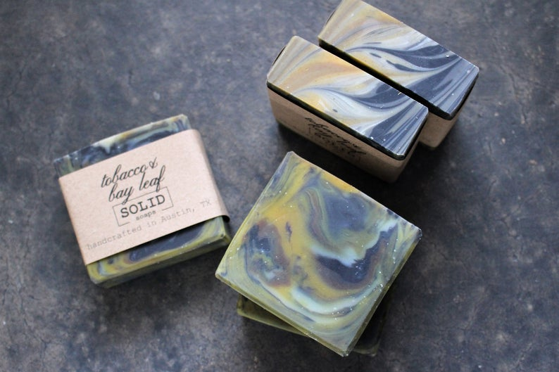 Solid Soaps - Tobacco and Bay Leaf Solid Soap