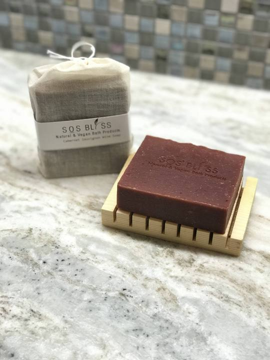 SOS BLISS Cabernet Sauvignon Soap