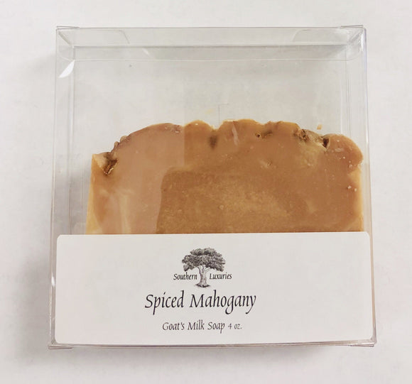 Southern Luxuries Goat's Milk Soap Spiced Mahogany