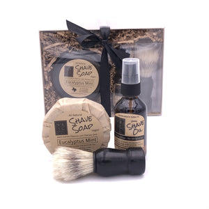 Shave Soap Shaving Kit