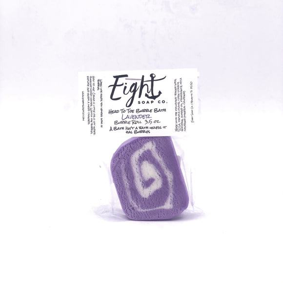 Eight Soap Co. Lavender Bubble Bar