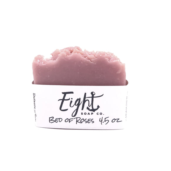 Eight Soap Co. Bed of Roses Soap Bar